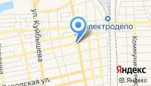 Центральная городская больница г. Батайска на карте