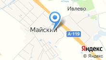 Промтоварный магазин на карте