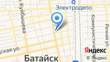 Патэк на карте