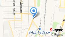 Автомагазин на ул. Энгельса на карте