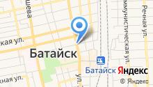 Центр занятости населения г. Батайска на карте