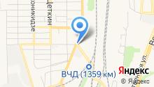 Магазин автозапчастей для иномарок на Сальском на карте