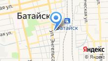 Батайск на карте