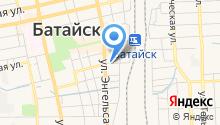 Линейный отдел полиции на станции Батайск на карте