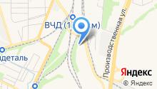 Аммонит-декор на карте