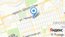 Распутин А.В. на карте