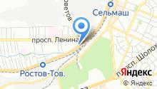 CleanCar на карте