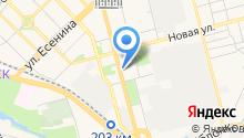 Магазин мебельных и автомобильных тканей на карте