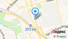 Рязанский строительный колледж на карте