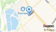 На Волгоградской на карте