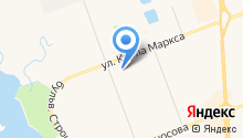 Ирма-М на карте