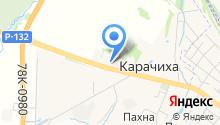 Ярославская дача на карте