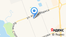 Анжея на карте