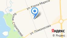 Главное бюро медико-социальной экспертизы Архангельской области на карте