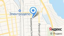 Магазин овощей и фруктов на ул. Лермонтова на карте