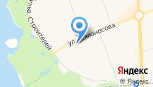 Банкомат, Северный банк Сбербанка России на карте