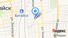 Кущевский пищекомбинат на карте