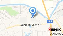Автоклин на карте