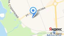 Инстрой, ЗАО на карте
