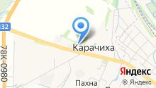 Ярославский аэроклуб на карте