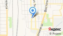 Парикмахерская на ул. Комарова на карте