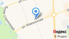 Магазин товаров для спорта на карте