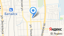Бюро недвижимости на карте
