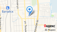 Магазин хозтоваров на ул. Воровского на карте