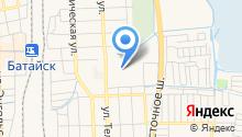 Магазин овощей фруктов на ул. Воровского на карте