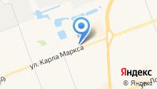 Всероссийское общество автомобилистов на карте