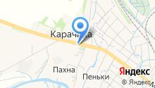 А-строй на карте