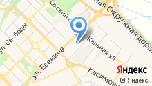 Яндекс Такси на карте