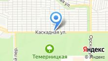 Каскад Строй на карте