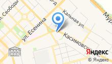Обедофф на карте