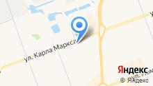 Автошина на карте