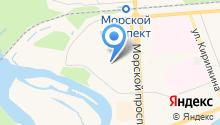 Детский сад №3, Морозко на карте