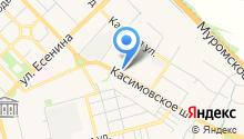 Компания автогрузоперевозок на карте