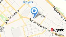 VeloWell на карте