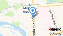 Белорусский трикотаж на карте