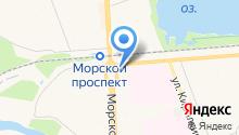 Крендель на карте