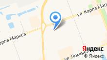 Беломор на карте
