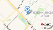 DiagService на карте
