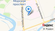 Диатехпроект на карте
