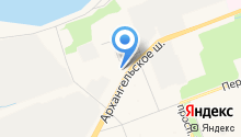 Военная комендатура гарнизона первого разряда г. Северодвинска на карте