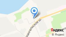 Деревенский дом на карте