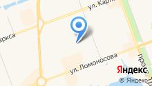 Здравушка на карте