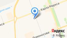 Двинское подворье на карте