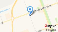 Антал на карте