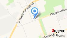 CommercReal на карте