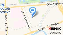 Детско-юношеский центр на карте